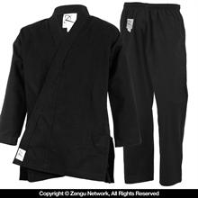 11 oz. Black Heavyweight Karate Uniform